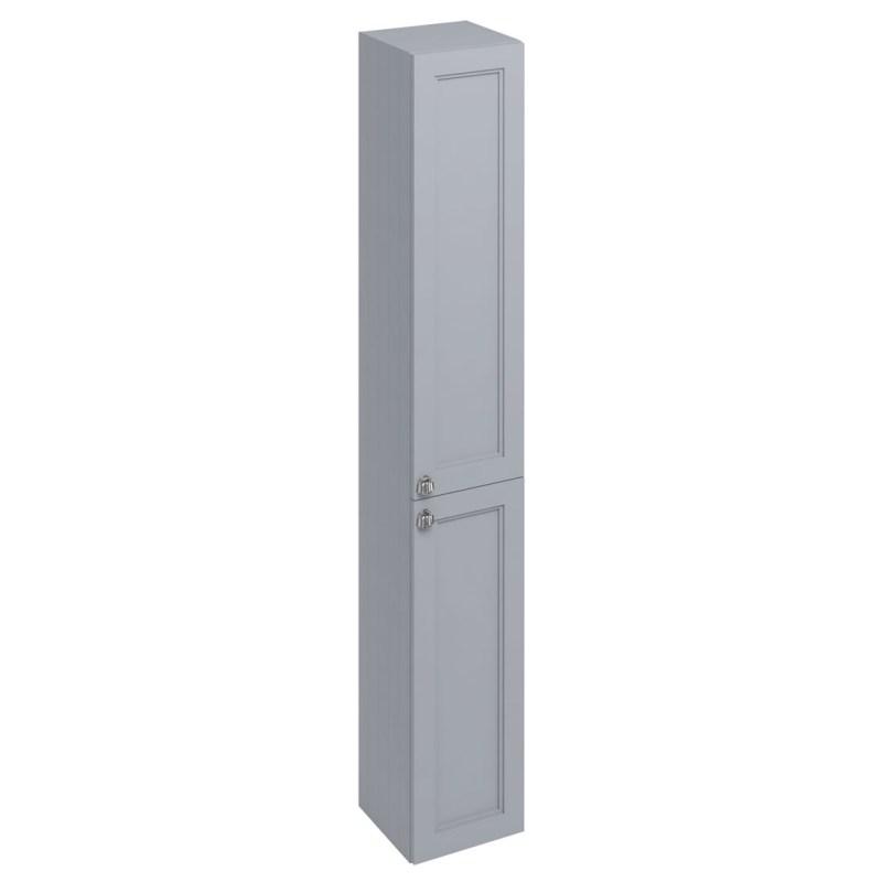 Burlington 30cm Double Door Tall Base Unit Classic Grey