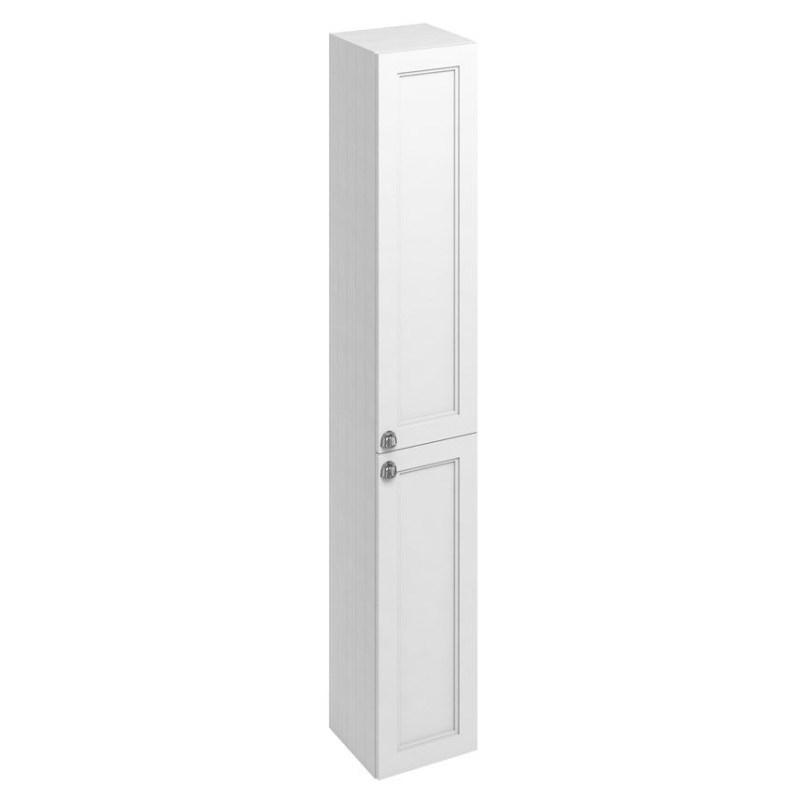 Burlington 30cm Double Door Tall Base Unit Matt White