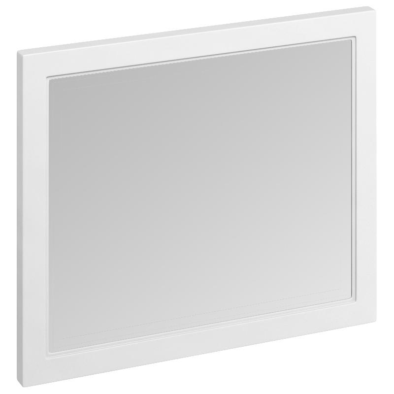 Burlington Framed 90cm Mirror Matt White