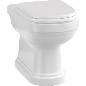 Burlington Riviera Back-To-Wall WC Pan & Soft Close Seat