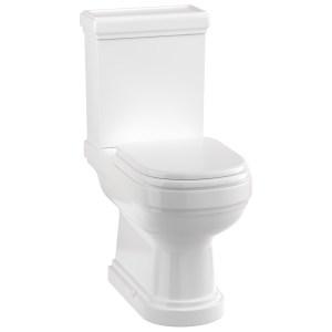 Burlington Riviera Close Coupled Open Back Toilet