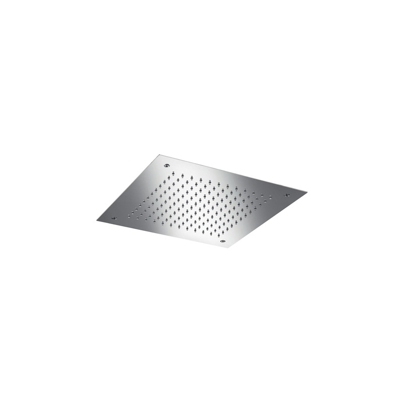 Cifial Concealed Square Shower Head Polished Steel