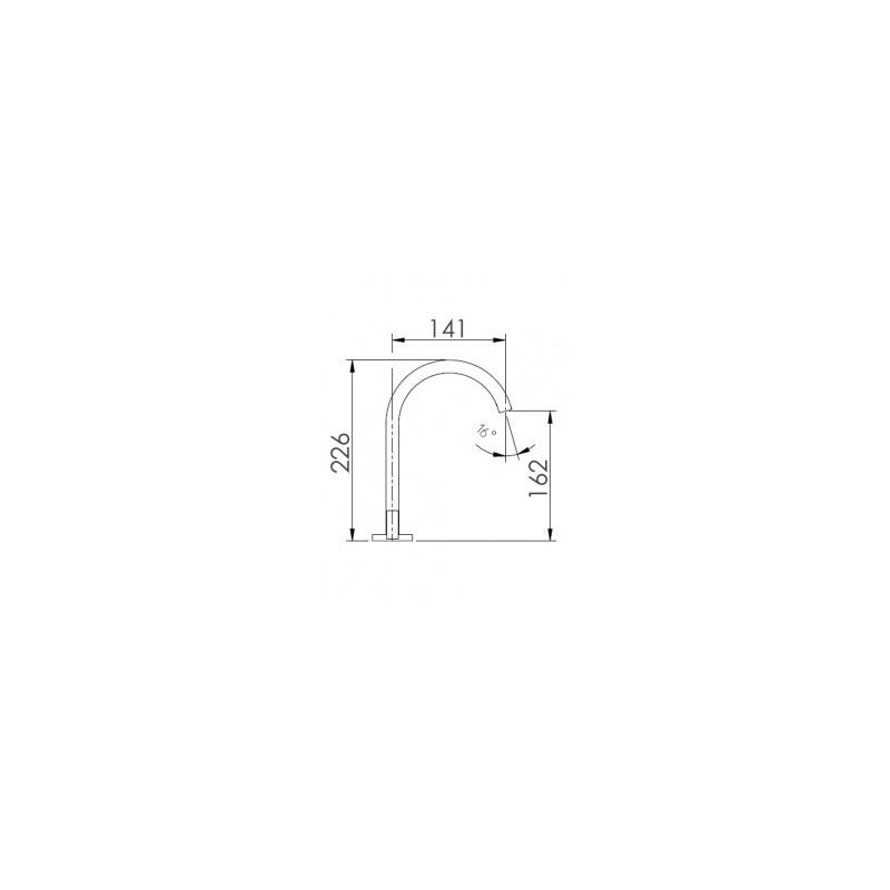Cifial Technovation M3 3 Hole Deck Basin Mixer Chrome