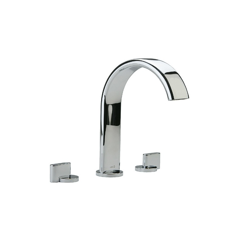 Cifial Technovation M3 3 Hole Deck Bath Mixer Chrome