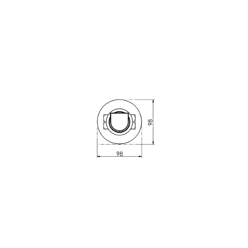 """Cifial Emmie 3/4"""" Wall Stop Valve Right Hand"""