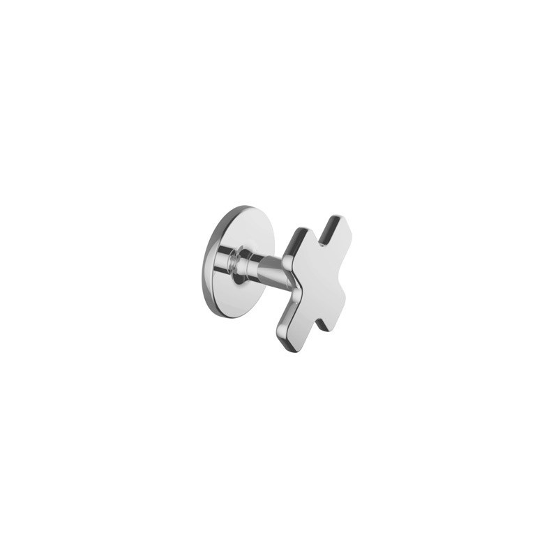 """Cifial TH400 3/4"""" Wall Stop Valve (Cross) Left Hand"""