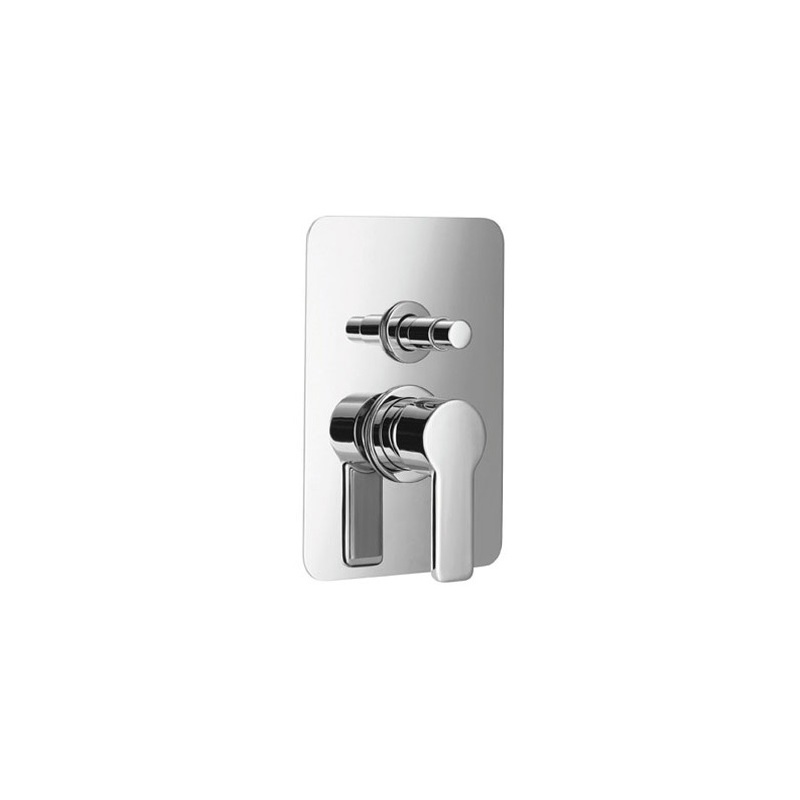 Cifial Coule Concealed Manual Bath/Shower Mixer Chrome
