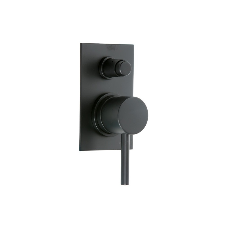 Cifial Black Concealed Manual Bath/Shower Mixer