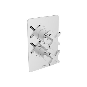 Cifial Texa Thermostatic Shower Valve 1 Outlet
