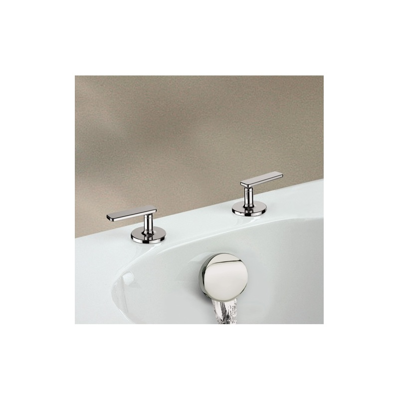 Cifial TH400 Pair of Deck Bath Valves & Aqua Filler (Lever)