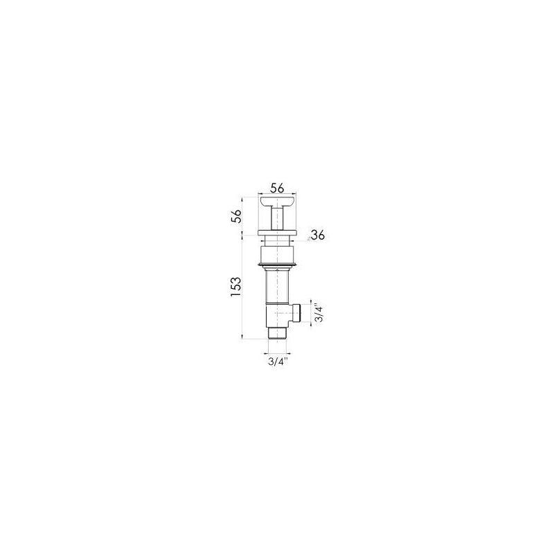 Cifial Texa Deck Valves & Aqua Filler