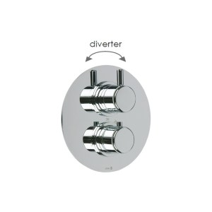 Cifial Technovation 35 Thermostatic Shower Valve with Diverter