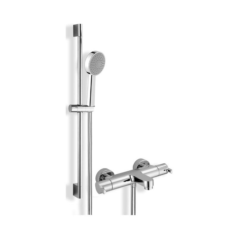 Cifial Coule Themostatic Bath/Shower Flexi Shower Kit Chrome
