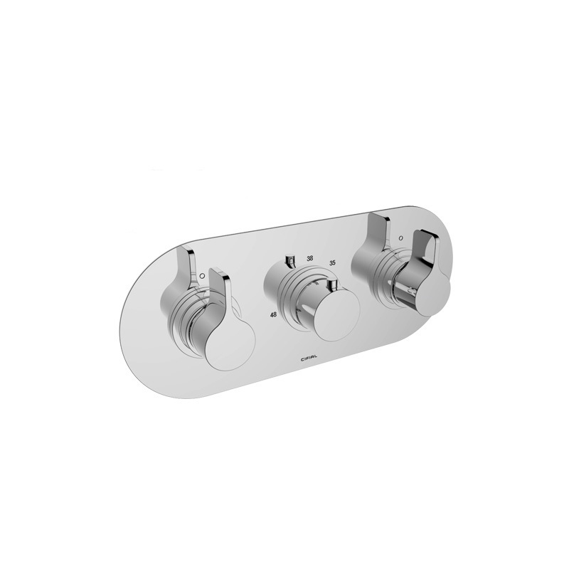 Cifial TH251 3 Control Landscape Thermostatic Valve (2 Outlets)