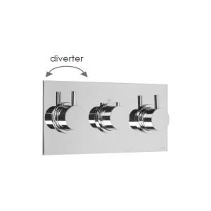 Cifial Technovation 465 3 Control Landscape Shower Valve