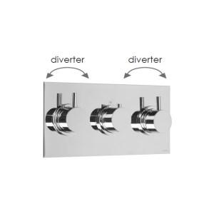 Cifial Technovation 465 Landscape Valve with Double Diverter