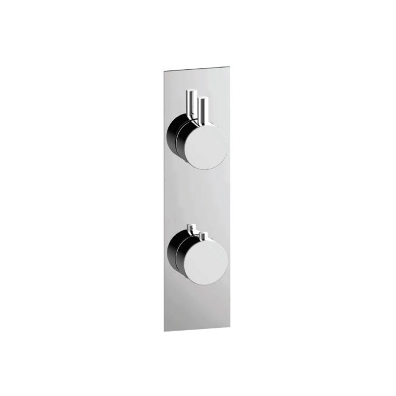 Cifial Slim Techno Thermostatic Shower Valve, 1 Outlet
