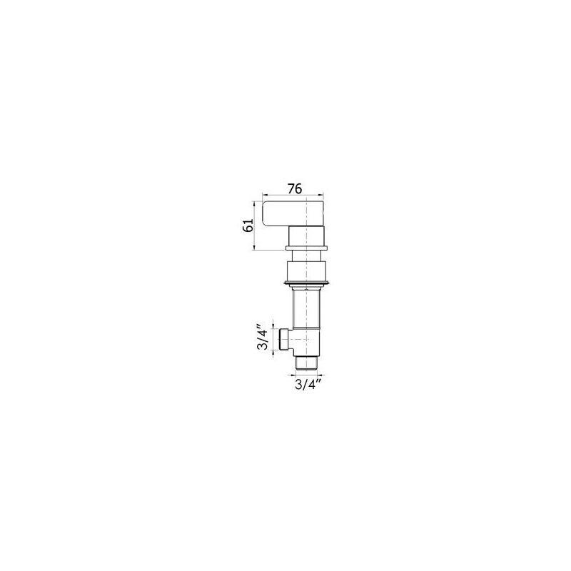Cifial TH 251 Deck Valves & Aqua Filler
