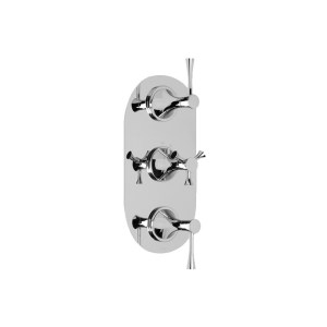 Cifial Brookhaven Lever 3 Control Thermostatic Valve Chrome