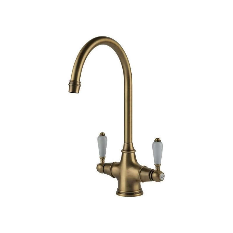 Clearwater Alrisha Mono Sink Mixer Brushed Bronze