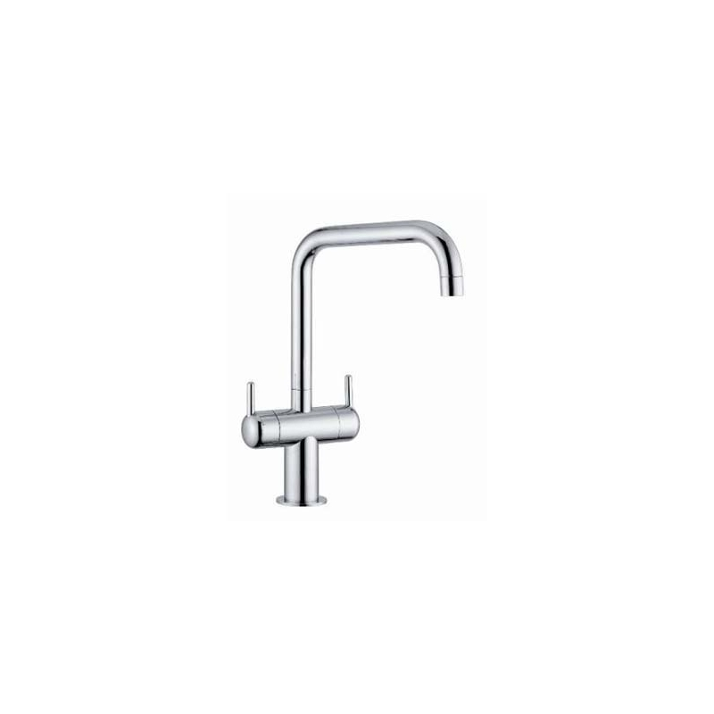 Clearwater Altuna Mono Sink Mixer with Swivel Spout Chrome