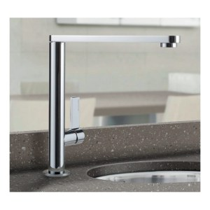 Clearwater Pyxis Mono Sink Mixer with Swivel Spout Brushed