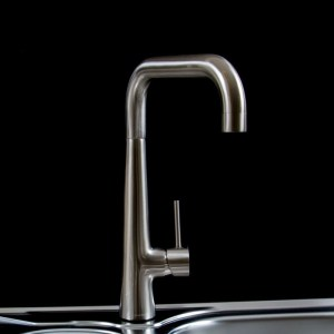 Clearwater Porrima Single Lever U Spout Mono Sink Mixer Brushed