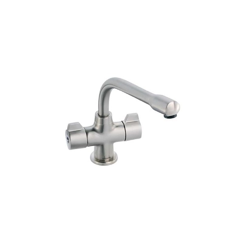 Clearwater Ultra Mono Sink Mixer Mixer with Swivel Spout Brushed