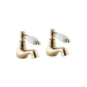 Deva Georgian Bath Taps Gold
