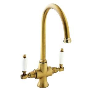 Deva Georgian Mono Sink Mixer Gold