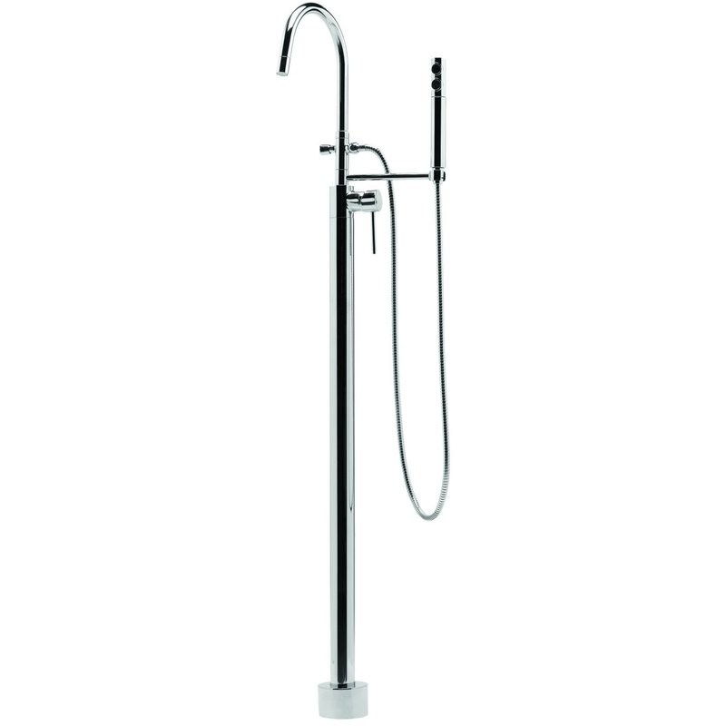 Deva Vision Floor Mounted Bath Shower Mixer