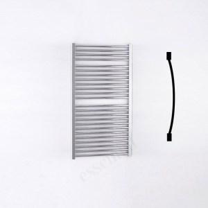 Essential Standard Towel Warmer Curved 1110x600mm Chrome