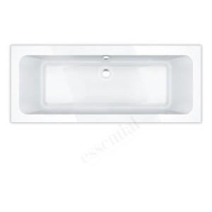 Essential Islington Rectangular Bath 1700x700mm 0 Tap Holes