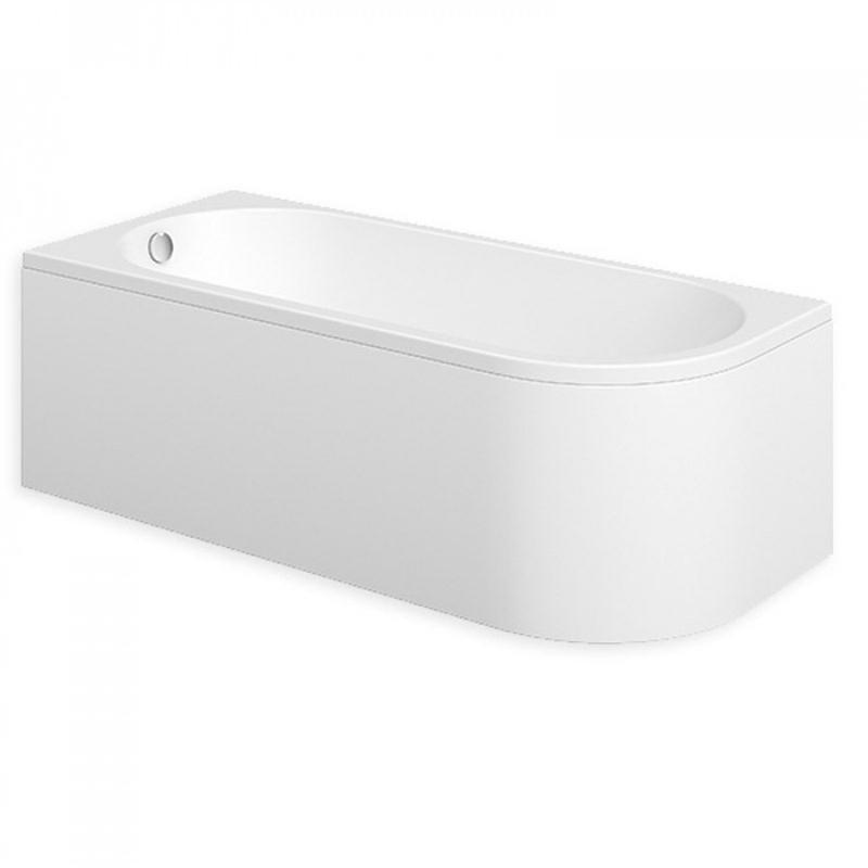 Essential Pimlico 1700x750mm Spacesaving Bath Left Hand Pack
