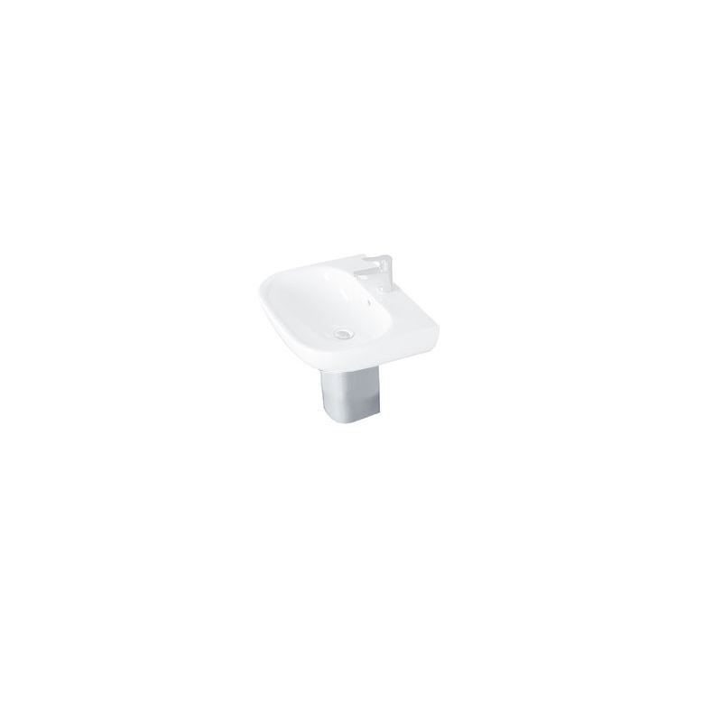 Essential Lily Semi Pedestal Only White
