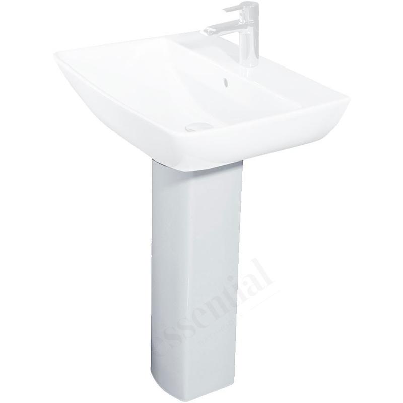 Essential Jasmine Full Pedestal Only White
