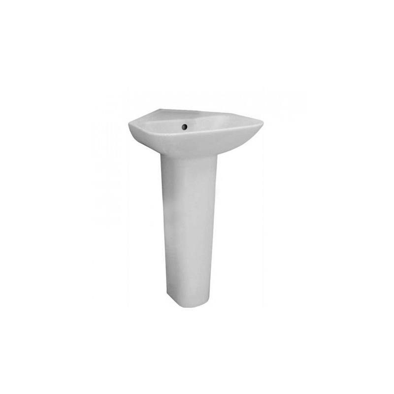 Essential Violet 45cm Corner Basin