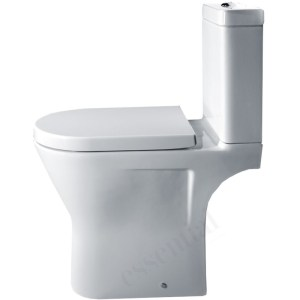 Essential Ivy Comfort WC Pan, Cistern & Soft Close Seat Pack