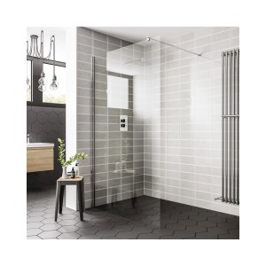 Essential Spring 700mm Wetroom Panel
