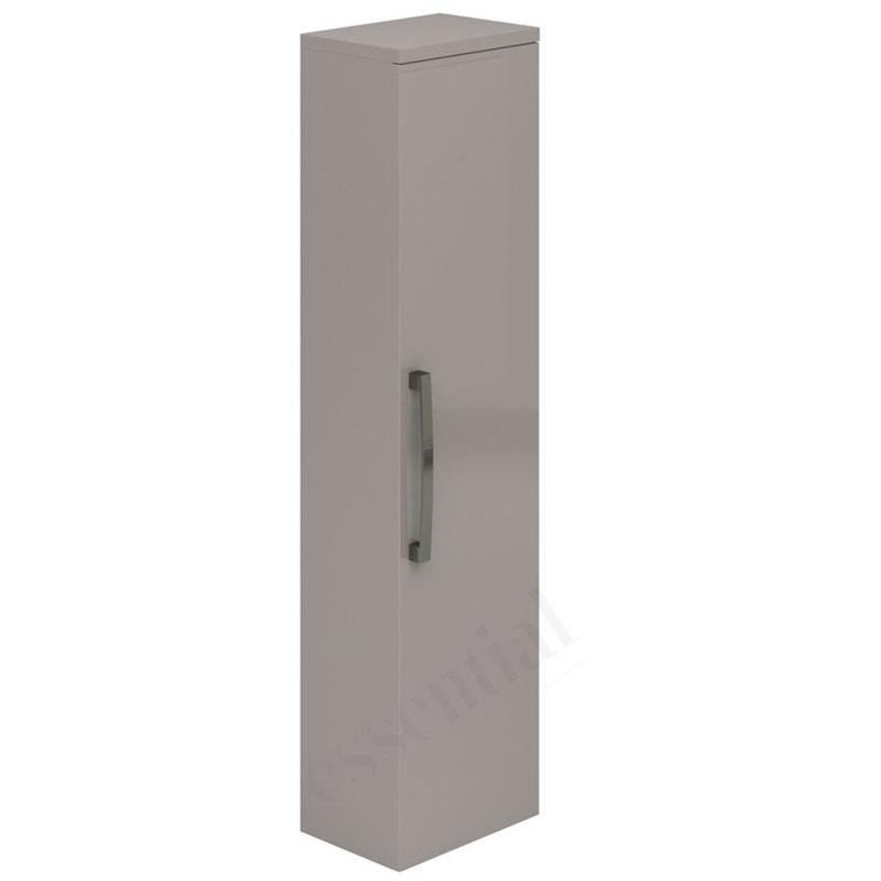 Essential Nevada Wall Hung Column Unit 1 Door 350mm Cashmere