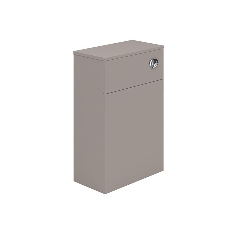 Essential Nevada WC Unit 500mm Wide x 200mm Deep Cashmere