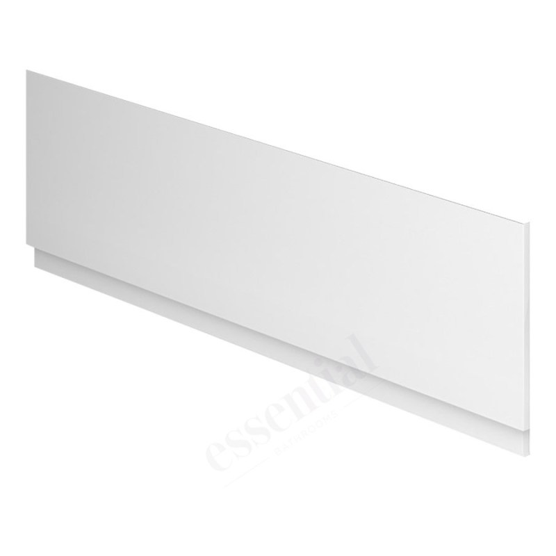 Essential Nevada MDF Front Bath Panel 1700mm White