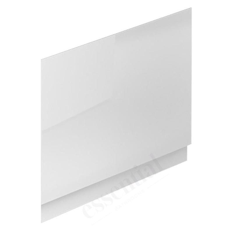 Essential Nevada MDF End Bath Panel 700mm White