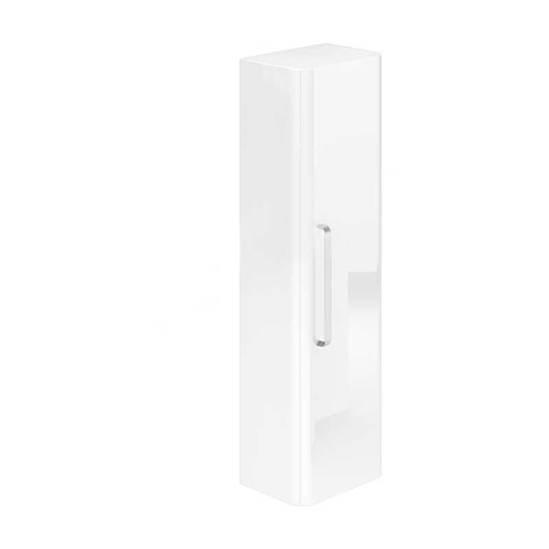 Essential Vermont Wall Hung Column Unit 1 Door 350mm White