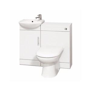 Essential Alaska White 4 Part Furniture Set 950mm