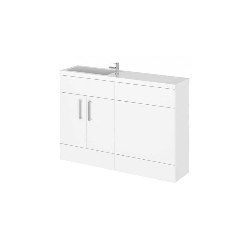 Essential Nevada I Floor Standing Unit & Basin White
