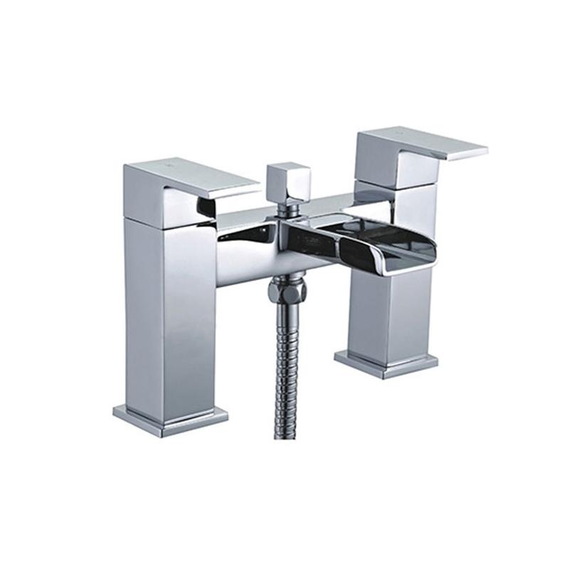 Essential Soho Deck Mounted Bath Shower Mixer & Kit