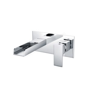 Essential Soho Wall Mounted Basin Mixer & Click Waste