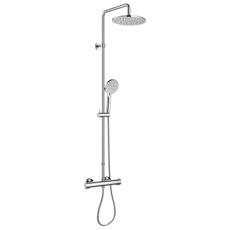Flova Smart Exposed Thermostatic Shower Column with Extension