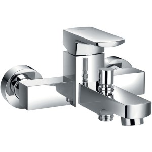 Flova Dekka Wall Mounted Manual Single Lever Bath Shower Mixer